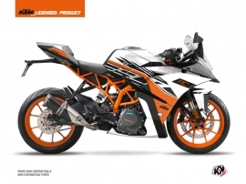 KTM 390 RC Street Bike Perform Graphic Kit Black White