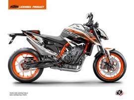 KTM Duke 890 R Street Bike Perform Graphic Kit Black White