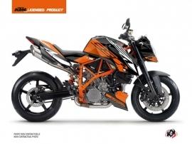 KTM Super Duke 990 R Street Bike Perform Graphic Kit Orange Black