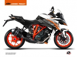 Kit Déco Moto Perform KTM Super Duke 1290 GT Noir Blanc