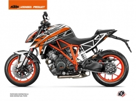 KTM Super Duke 1290 R Street Bike Perform Graphic Kit Black White