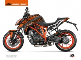 KTM Super Duke 1290 R Street Bike Perform Graphic Kit Black Orange