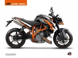 KTM Super Duke 990 Street Bike Perform Graphic Kit Black White