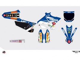 Yamaha 85 YZ Dirt Bike Replica Team Pichon Graphic Kit 2015