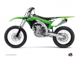 Kit Déco Fonds de plaques ALFA Kawasaki 250 KX