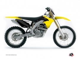 Kit Déco Fonds de plaques ALFA Moto Cross Suzuki 250 RMZ