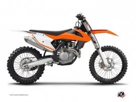 Kit Déco Fonds de plaques ALFA KTM 250 SX