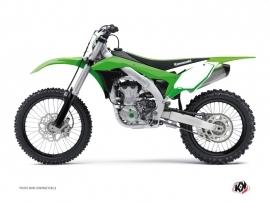 Kit Déco Fonds de plaques ALFA Kawasaki 450 KXF