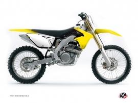 Kit Déco Fonds de plaques ALFA Suzuki 450 RMZ