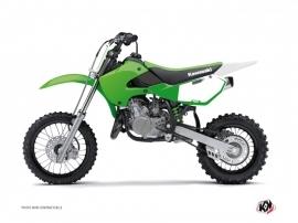 Kit Déco Fonds de plaques ALFA Kawasaki 65 KX