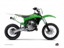 Kit Déco Fonds de plaques ALFA Kawasaki 85 KX