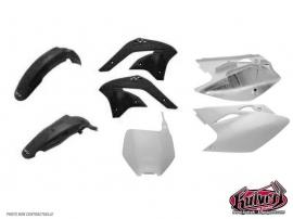 Kit plastiques noir Kawasaki 450 KXF 2013-2014