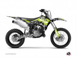 Kit Déco Moto Cross Predator Kawasaki 110 KLX Vert