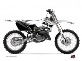 Kit Déco Moto Cross Predator Suzuki 125 RM Blanc