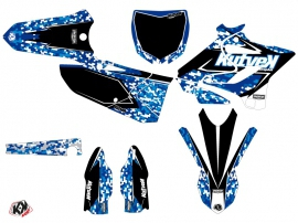 Kit Déco Moto Cross Predator Yamaha 125 YZ Bleu