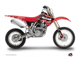 Honda 125 CR Dirt Bike Predator Graphic Kit Red