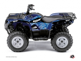 Yamaha 125 Grizzly ATV Predator Graphic Kit Blue