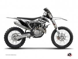 Kit Déco Moto Cross Predator KTM 125 SX Blanc