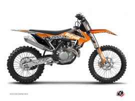 Kit Déco Moto Cross Predator KTM 125 SX Orange