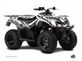 Kit Déco Quad Predator Kymco 250-300 MXU Blanc