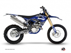 Kit Déco Moto Cross Predator Sherco 250 SEF R Noir Bleu