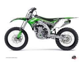 Kit Déco Moto Cross Predator Kawasaki 250 KX Vert