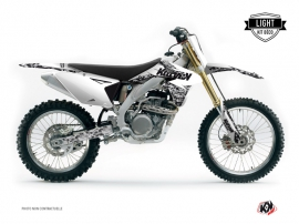 Suzuki 250 RMZ Dirt Bike Predator Graphic Kit White LIGHT