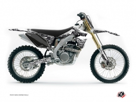 Kit Déco Moto Cross Predator Suzuki 250 RMZ Blanc
