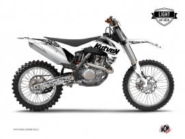 Kit Déco Moto Cross Predator KTM 250 SX Blanc LIGHT