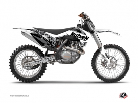 KTM 250 SX Dirt Bike Predator Graphic Kit White