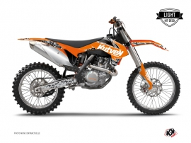 Kit Déco Moto Cross Predator KTM 250 SX Orange LIGHT