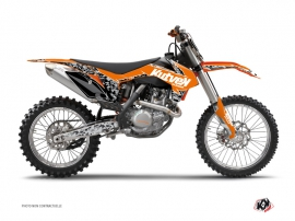 KTM 250 SX Dirt Bike Predator Graphic Kit Orange