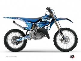 Kit Déco Moto Cross Predator Yamaha 250 YZ Bleu