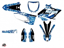 Yamaha 250 YZ Dirt Bike Predator Graphic Kit Blue