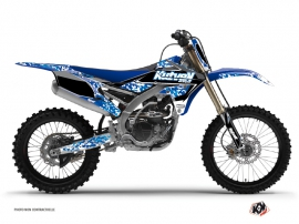 Kit Déco Moto Cross Predator Yamaha 250 YZF Bleu