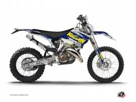 Kit Déco Moto Cross Predator Husqvarna 300 TE Violet Jaune