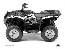 Kit Déco Quad Predator Yamaha 300 Grizzly Blanc