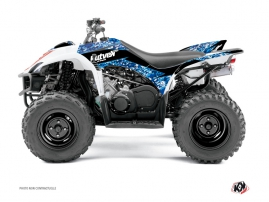 Yamaha 350-450 Wolverine ATV Predator Graphic Kit Blue