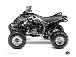 Kit Déco Quad Predator Yamaha 350 Raptor Blanc