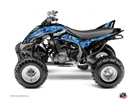 Kit Déco Quad Predator Yamaha 350 Raptor Bleu