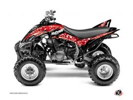 Kit Déco Quad Predator Yamaha 350 Raptor Rouge
