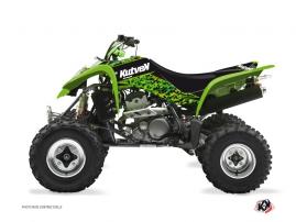 Kit Déco Quad Predator Kawasaki 400 KFX Noir Vert