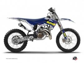 Kit Déco Moto Cross Predator Husqvarna FC 450 Violet Jaune