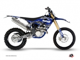 Sherco SE / SEF Dirt Bike Predator Graphic Kit Black Blue