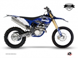 Kit Déco Moto Cross Predator Sherco 450 SEF-R Noir Bleu LIGHT