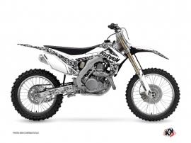 Kit Déco Moto Cross Predator Honda 450 CRF Blanc