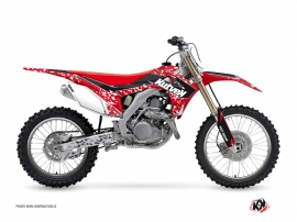 Honda 450 CRF Dirt Bike Predator Graphic Kit Red