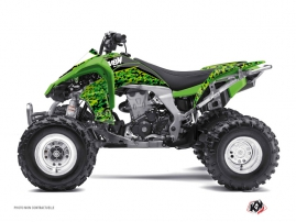 Kit Déco Quad Predator Kawasaki 450 KFX Noir Vert