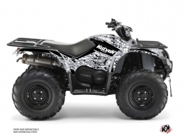 Yamaha 450 Kodiak ATV Predator Graphic Kit Grey