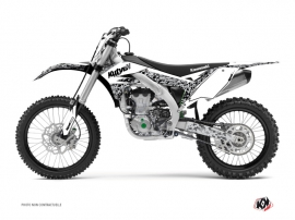Kit Déco Moto Cross Predator Kawasaki 450 KXF Blanc